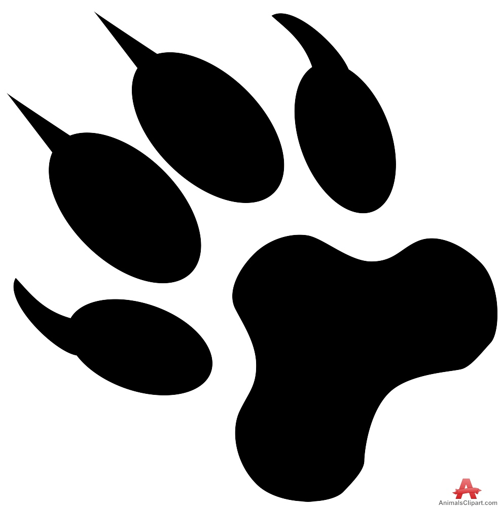 Dog Paw Clipart  66 cliparts