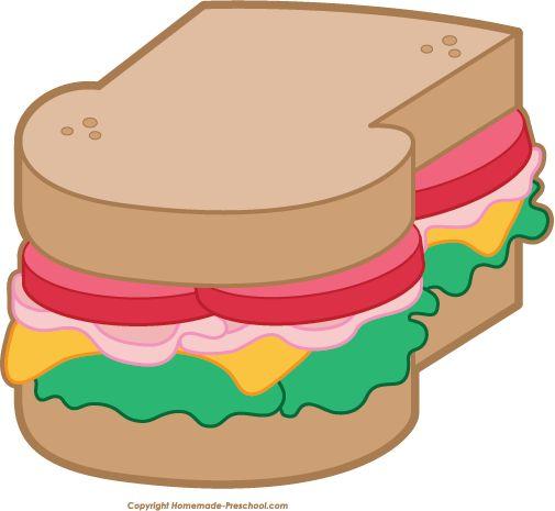 free picnic clipart scrapbook food