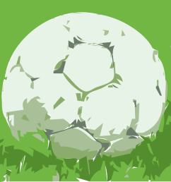 free soccer ball on grass clipart and vector image [ 2000 x 1894 Pixel ]