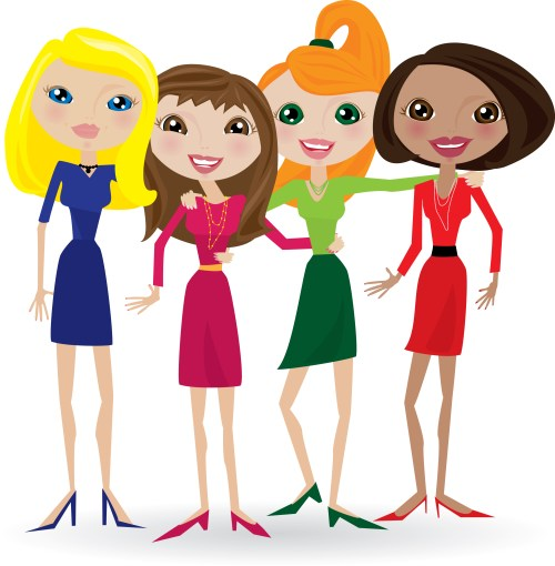 small resolution of friendship free clip art friends clipart 6