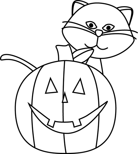 Halloween black and white free black cat clipart halloween clip art images halloween clipart black and white filsize: Halloween Black And White Halloween Cat Black And White Clipart 4 Wikiclipart