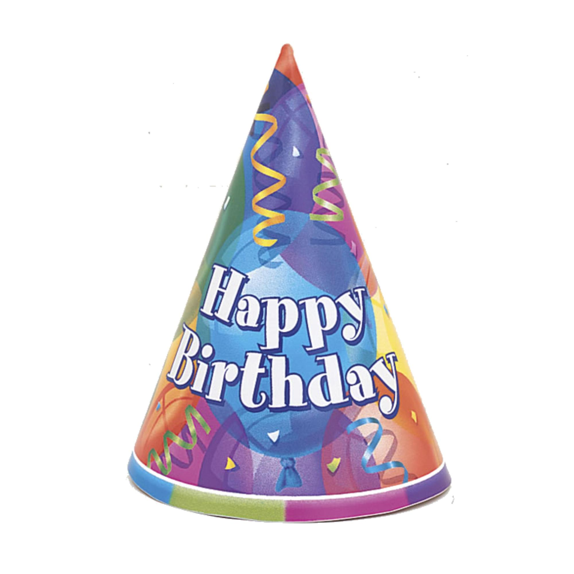 hight resolution of happy birthday hat clipart 5