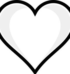 heart clipart black and white wedding hearts clipart black and white free [ 999 x 928 Pixel ]