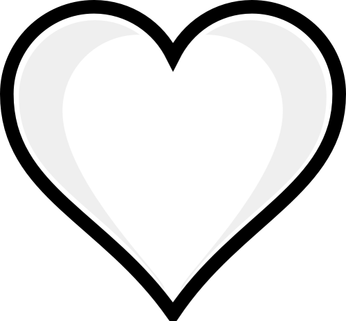 small resolution of heart clipart black and white wedding hearts clipart black and white free