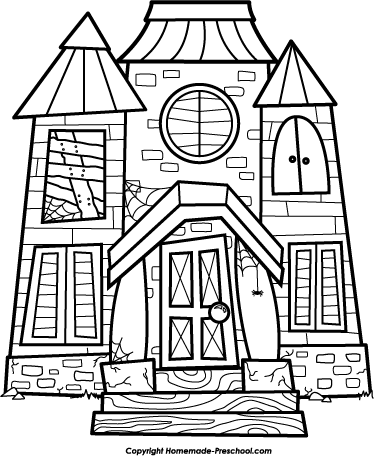 House black and white school house clip art black and