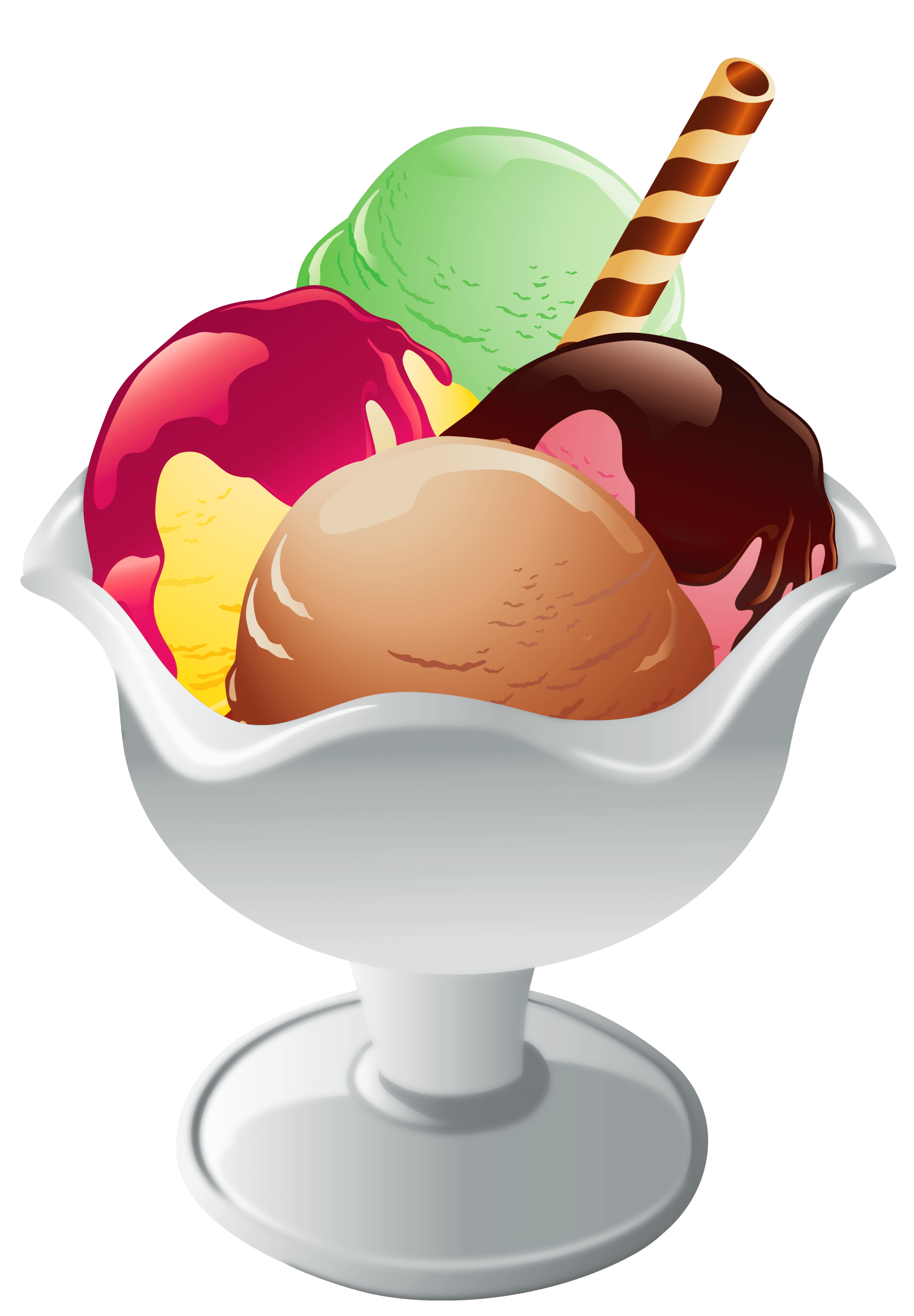 hight resolution of ice cream sundae ice cream clipart to download