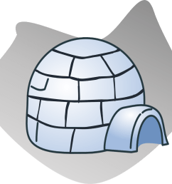 igloo house cliparts clipart club [ 1600 x 1408 Pixel ]