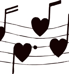 music notes musical clip art free music note clipart 2 image [ 1526 x 764 Pixel ]
