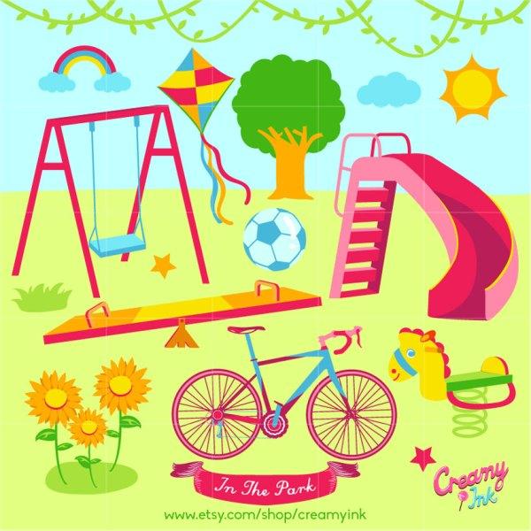 outdoor park clip art related keywords