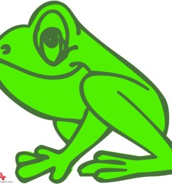 outline colored frog clipart free design download [ 999 x 928 Pixel ]