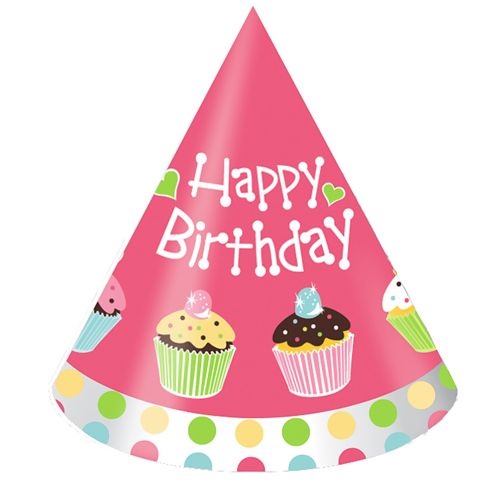 hight resolution of pink birthday hat clip art clipart photo