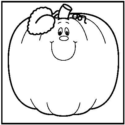 pumpkin black and white