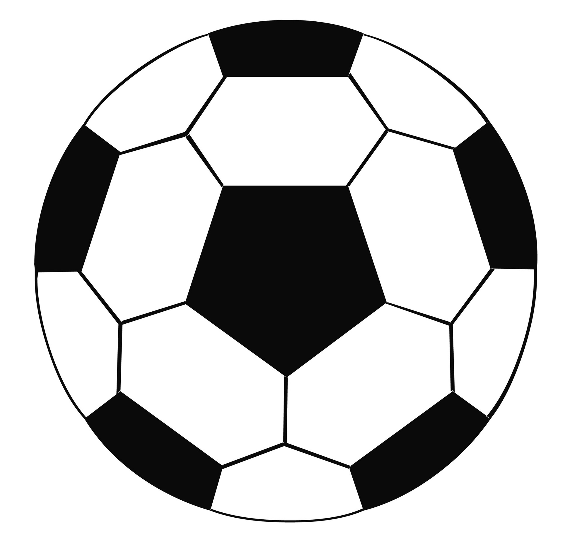 Soccer Ball Pictures To Color Clipart Free To Use Clip Art Resource