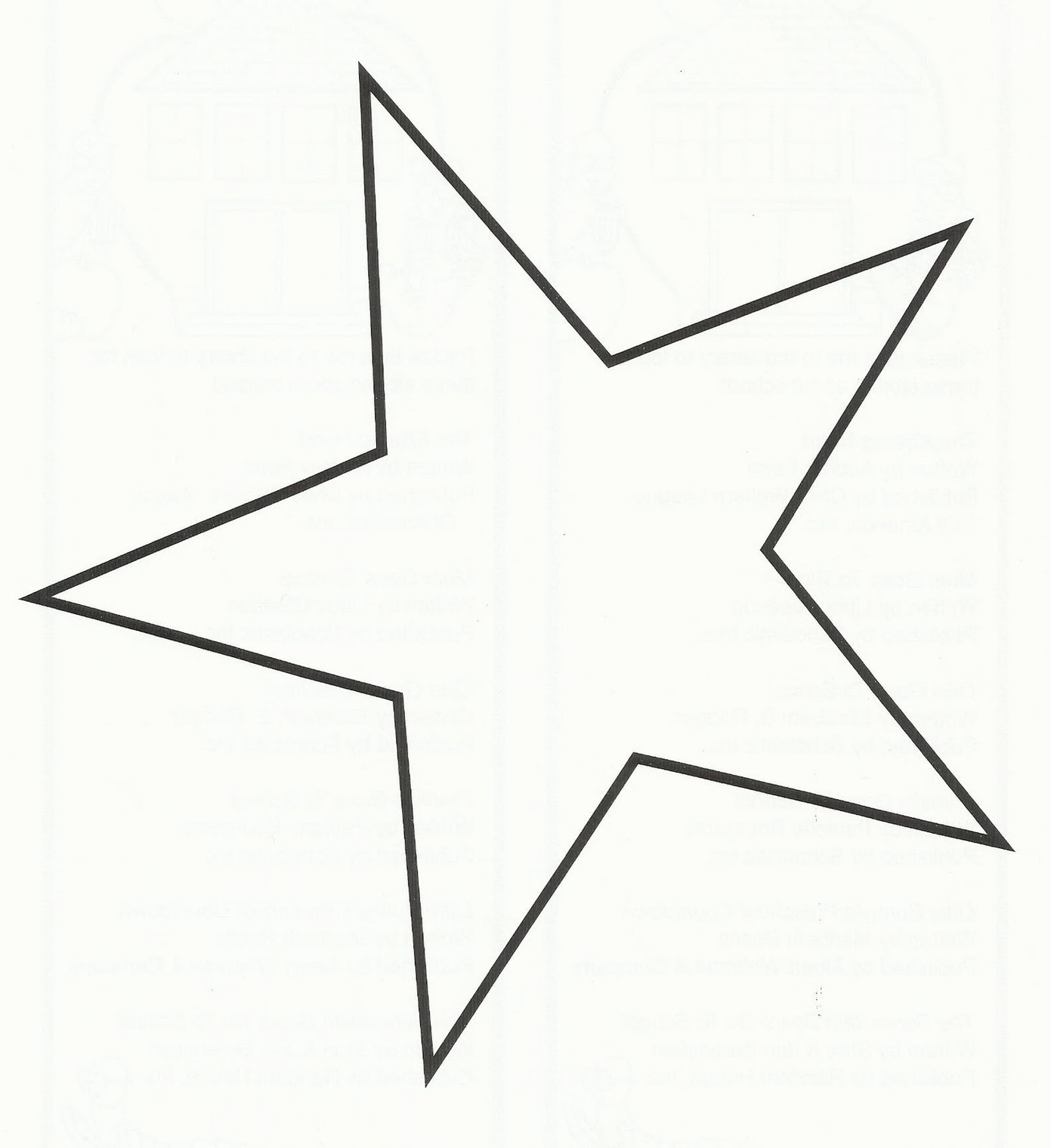 Star Outline Images