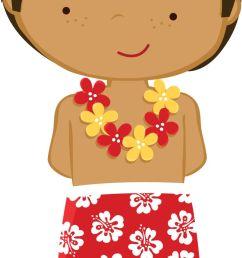 tropical luau clipart hawaiian free clip art 3 [ 736 x 1531 Pixel ]