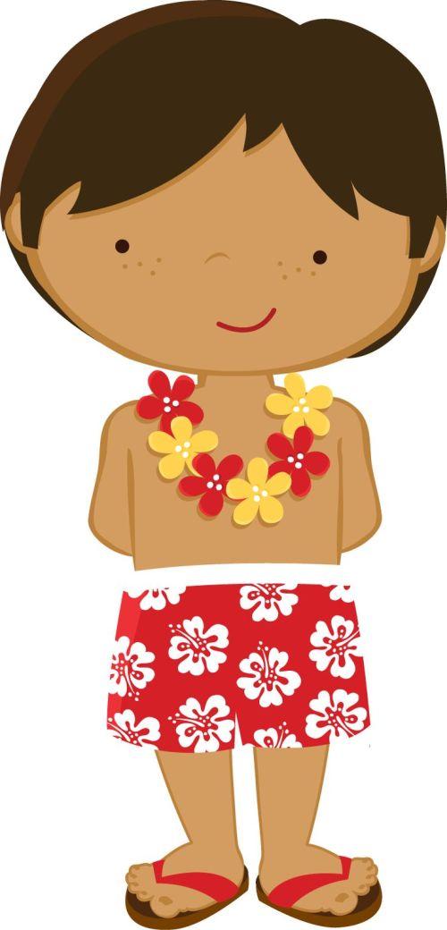 small resolution of tropical luau clipart hawaiian free clip art 3
