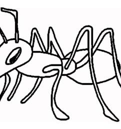 cartoon ant clipart 2 [ 1024 x 768 Pixel ]