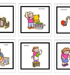 children doing household chores clipart [ 1600 x 1066 Pixel ]