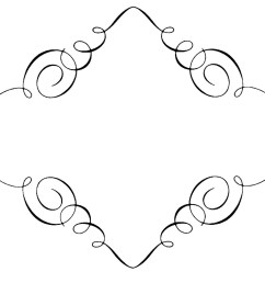 free borders free clip art borders scroll clipart images 2 [ 1600 x 1318 Pixel ]