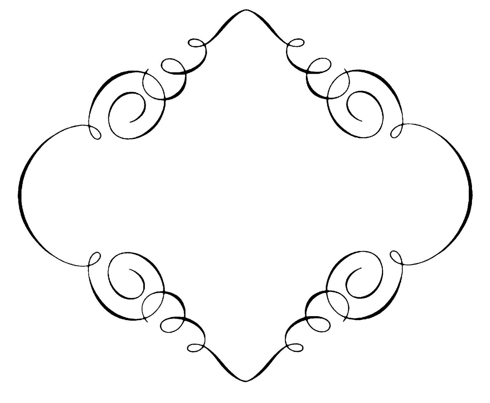 hight resolution of free borders free clip art borders scroll clipart images 2