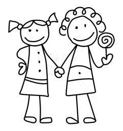 friends clip art free clipart images 4 [ 975 x 975 Pixel ]
