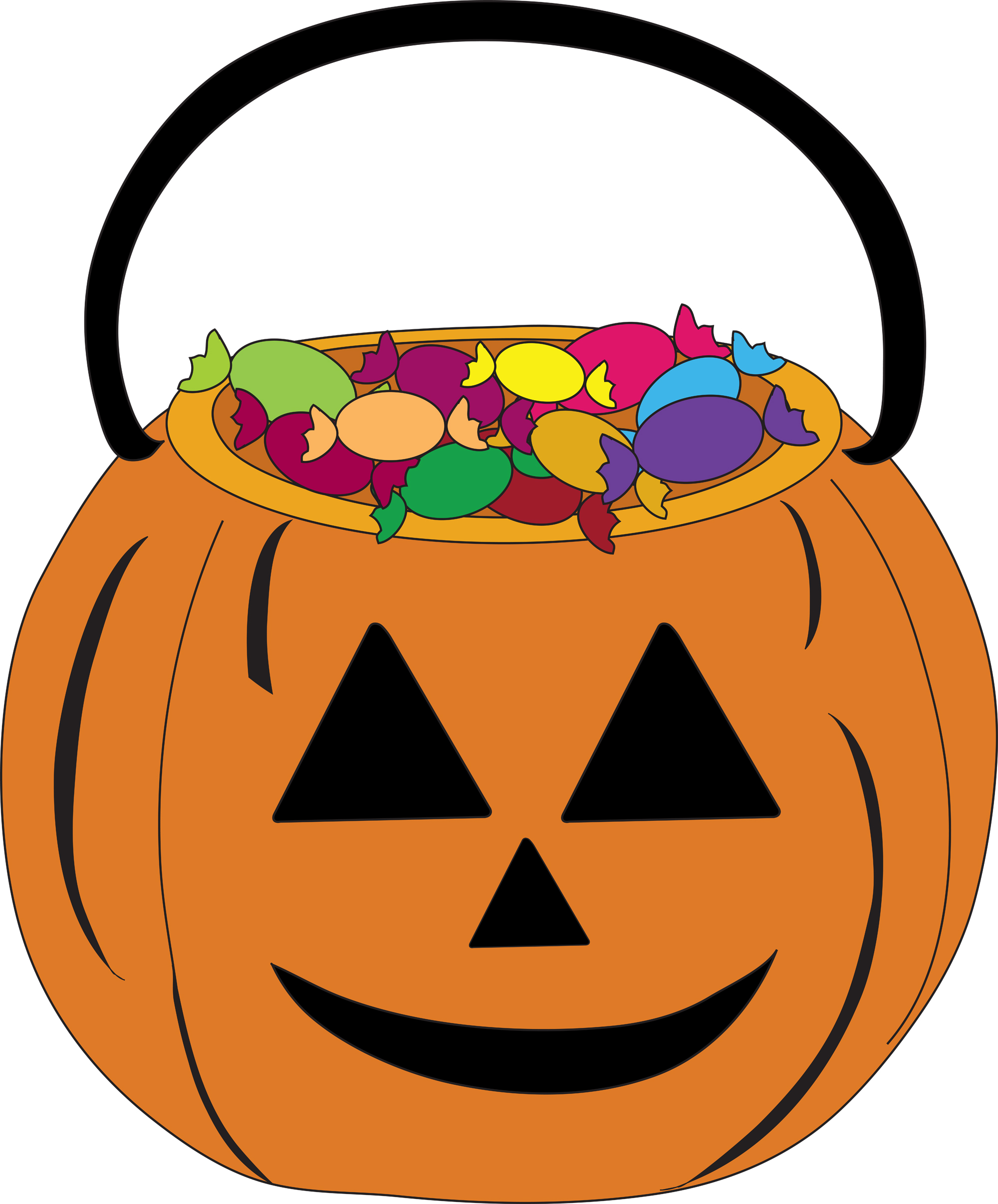 hight resolution of halloween candy clipart 2