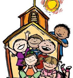 kids church clip art free clipart images 2 [ 1373 x 1709 Pixel ]
