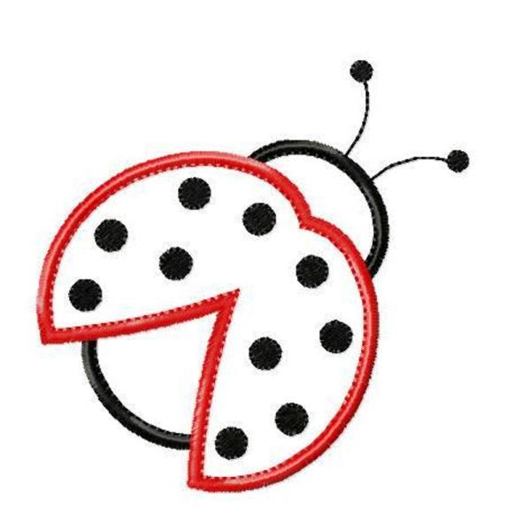 ladybug outline of template