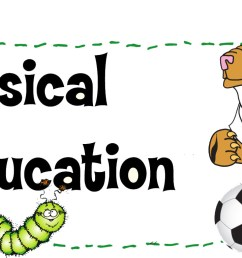 pe mrs sovich physical education clipart [ 1741 x 765 Pixel ]