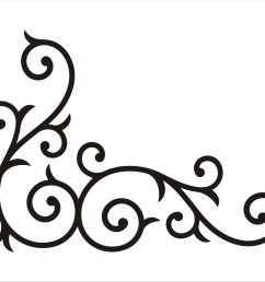 scrollwork free clip art borders scroll clipart images 2 2 [ 1500 x 1104 Pixel ]