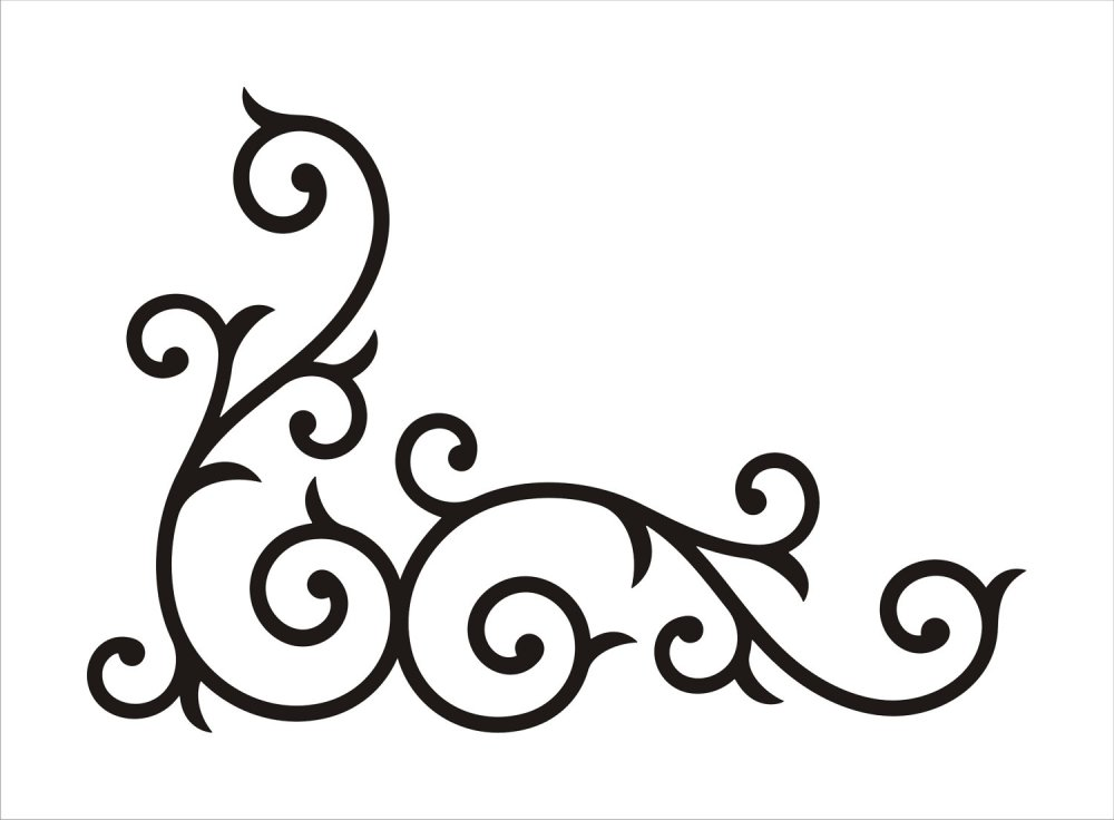 medium resolution of scrollwork free clip art borders scroll clipart images 2 2