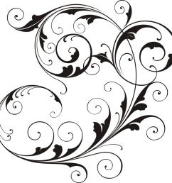 scrollwork simple scroll design clip art free clipart images [ 1021 x 1024 Pixel ]