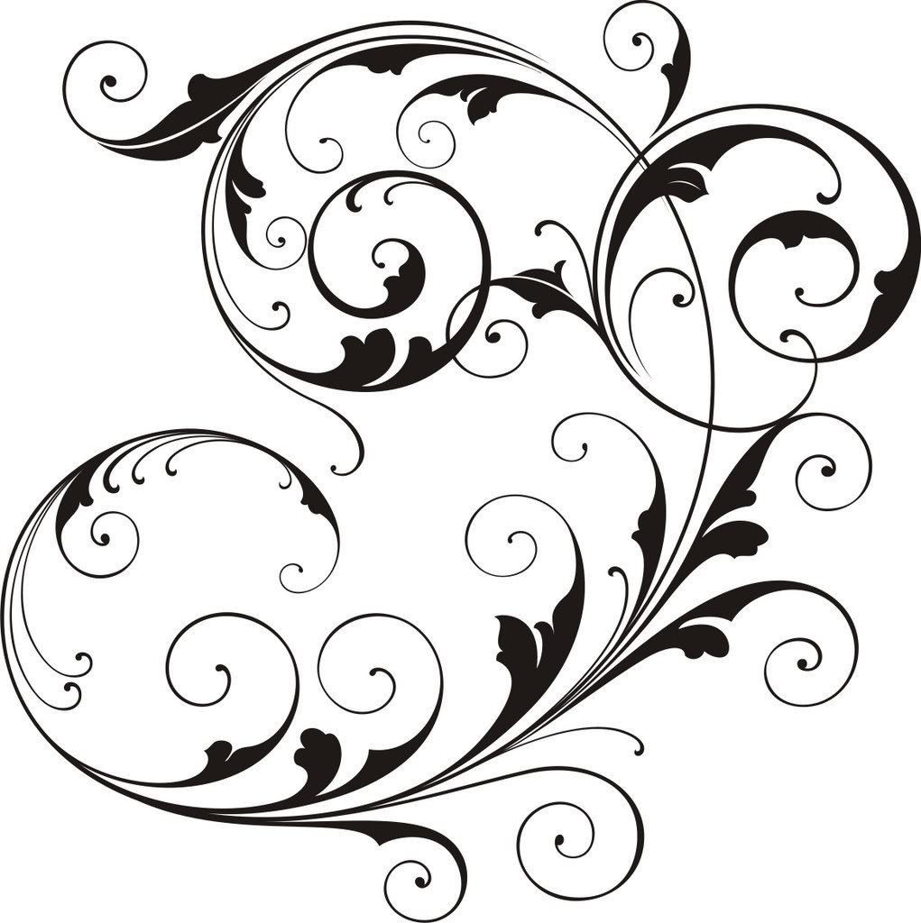 hight resolution of scrollwork simple scroll design clip art free clipart images