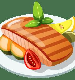 steak clipart 6 image [ 3232 x 2466 Pixel ]