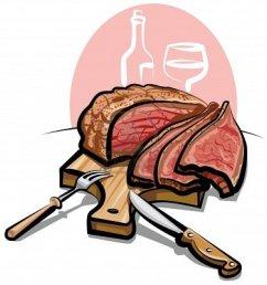 steak clipart 8 image [ 1134 x 1200 Pixel ]