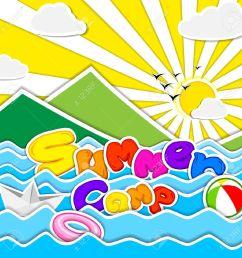 image result for summer camp clipart summer [ 1300 x 1300 Pixel ]