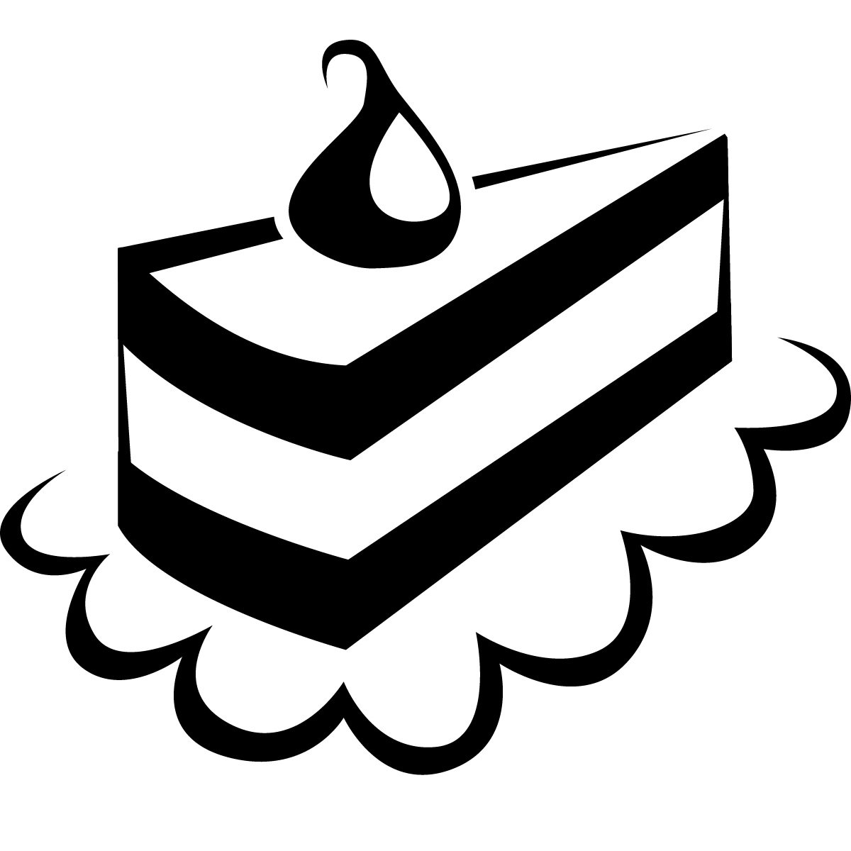 hight resolution of cake black and white free to use and share cake clipart for your website clipartdeck