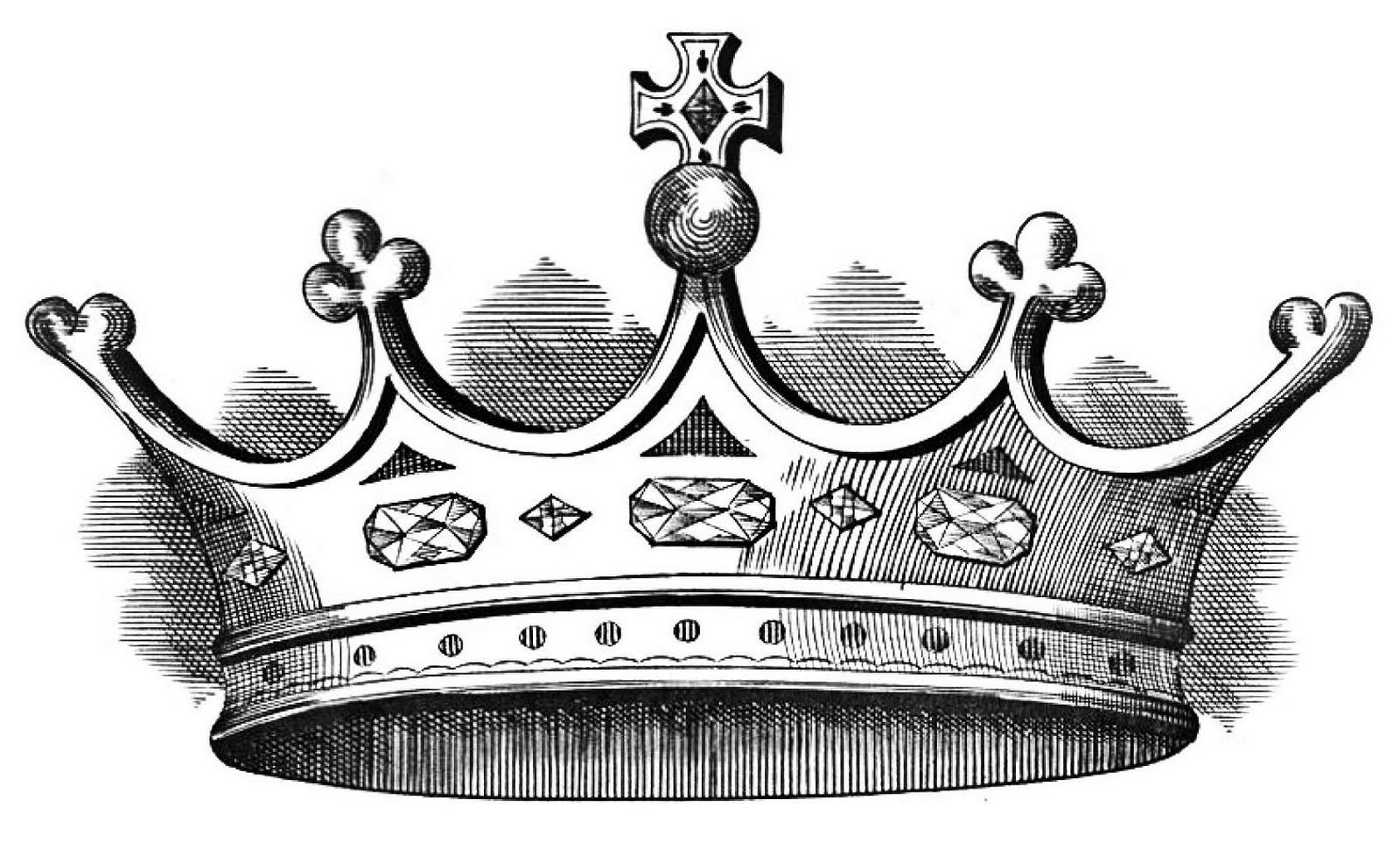 Crown Black And White King Crown Clip Art Black And White