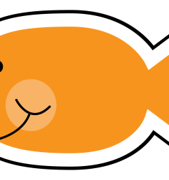 cute fish clip art black and white free clipart [ 1463 x 1013 Pixel ]