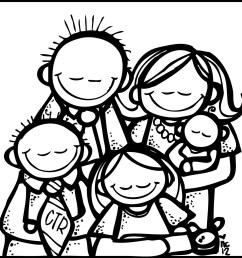 family black and white black family praying clipart [ 1600 x 1512 Pixel ]