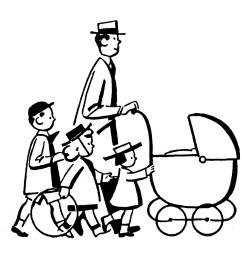 family black and white family black and white clipart 4 [ 1500 x 1415 Pixel ]