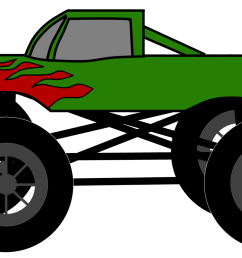 monster truck clip art pictures free clipart images 2 [ 2400 x 1380 Pixel ]