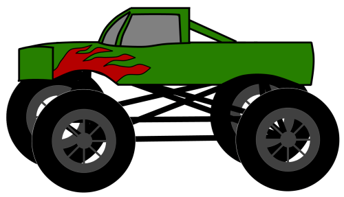 small resolution of monster truck clip art pictures free clipart images 2