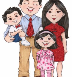 chinese family clipart clipartfest [ 1178 x 1600 Pixel ]