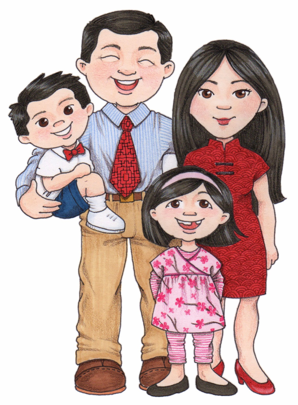 hight resolution of chinese family clipart clipartfest