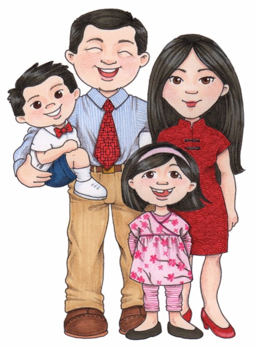 small resolution of chinese family clipart clipartfest
