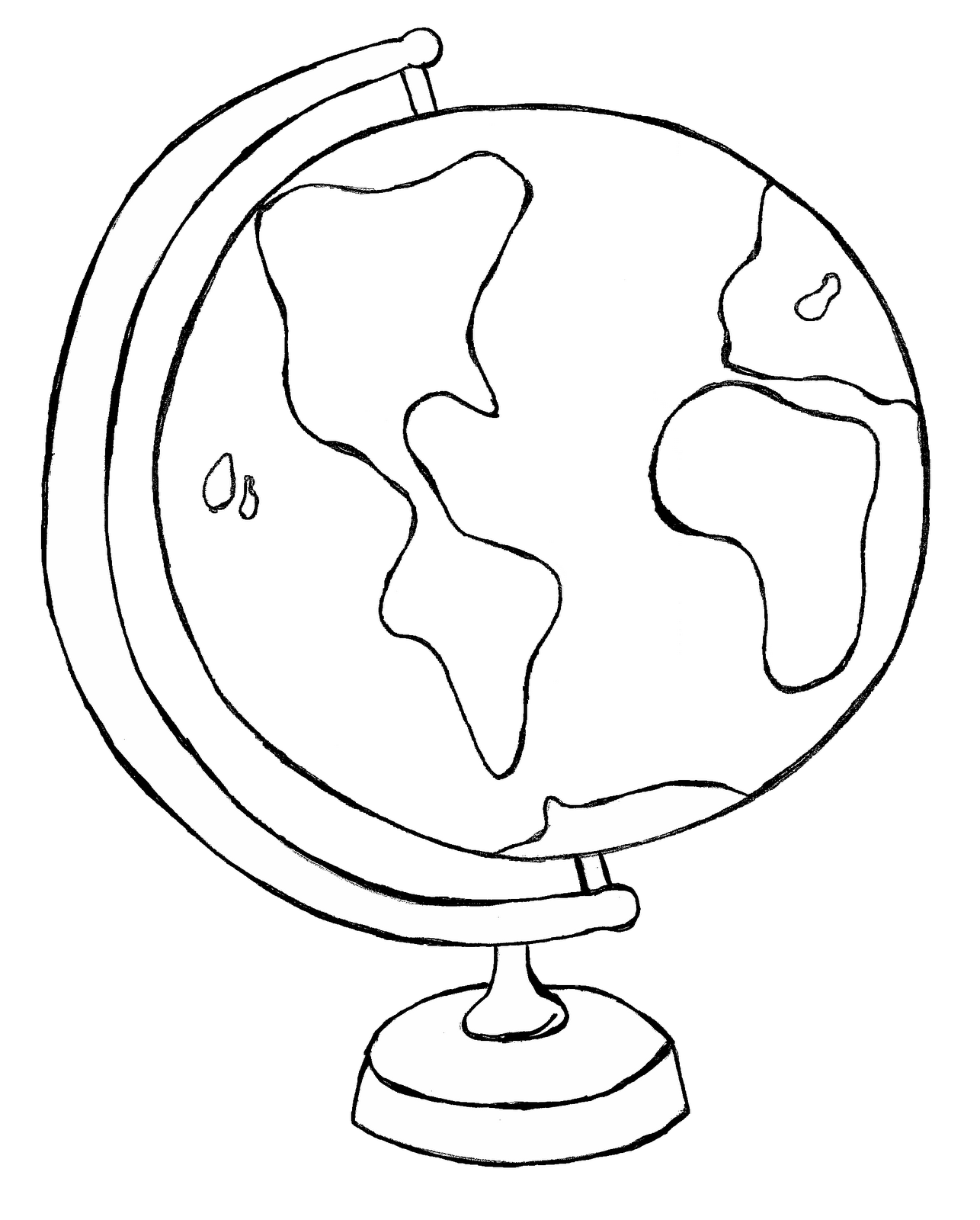 Clip Art Of World Clipart 2 Image 5 2