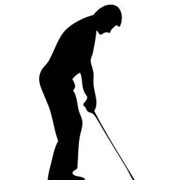 golf silhouette clipart 3 [ 1469 x 1920 Pixel ]