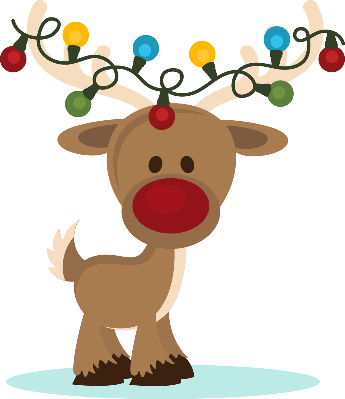hight resolution of reindeer clip art pictures clipartfest