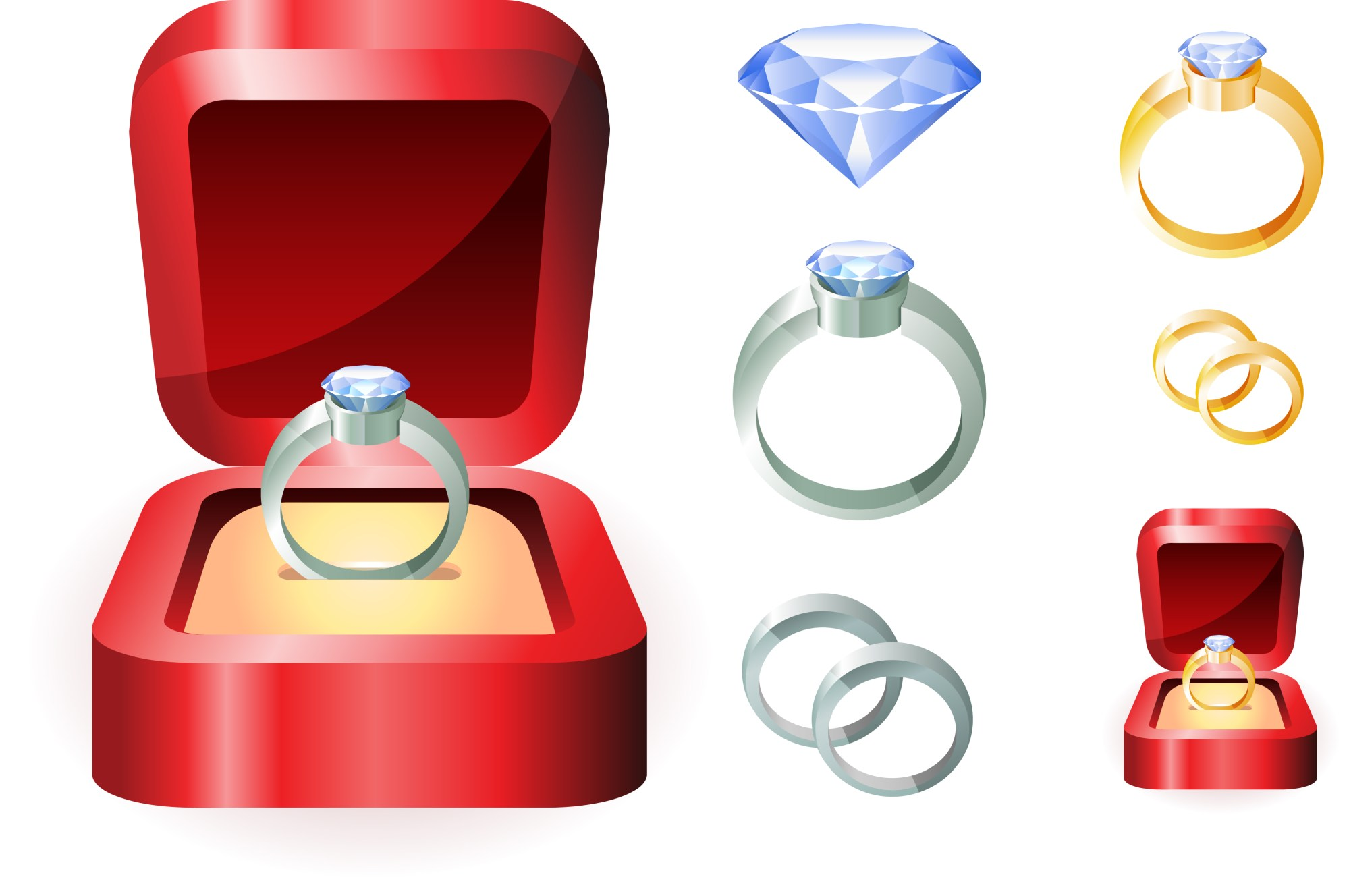 hight resolution of engagement free wedding ring clipart